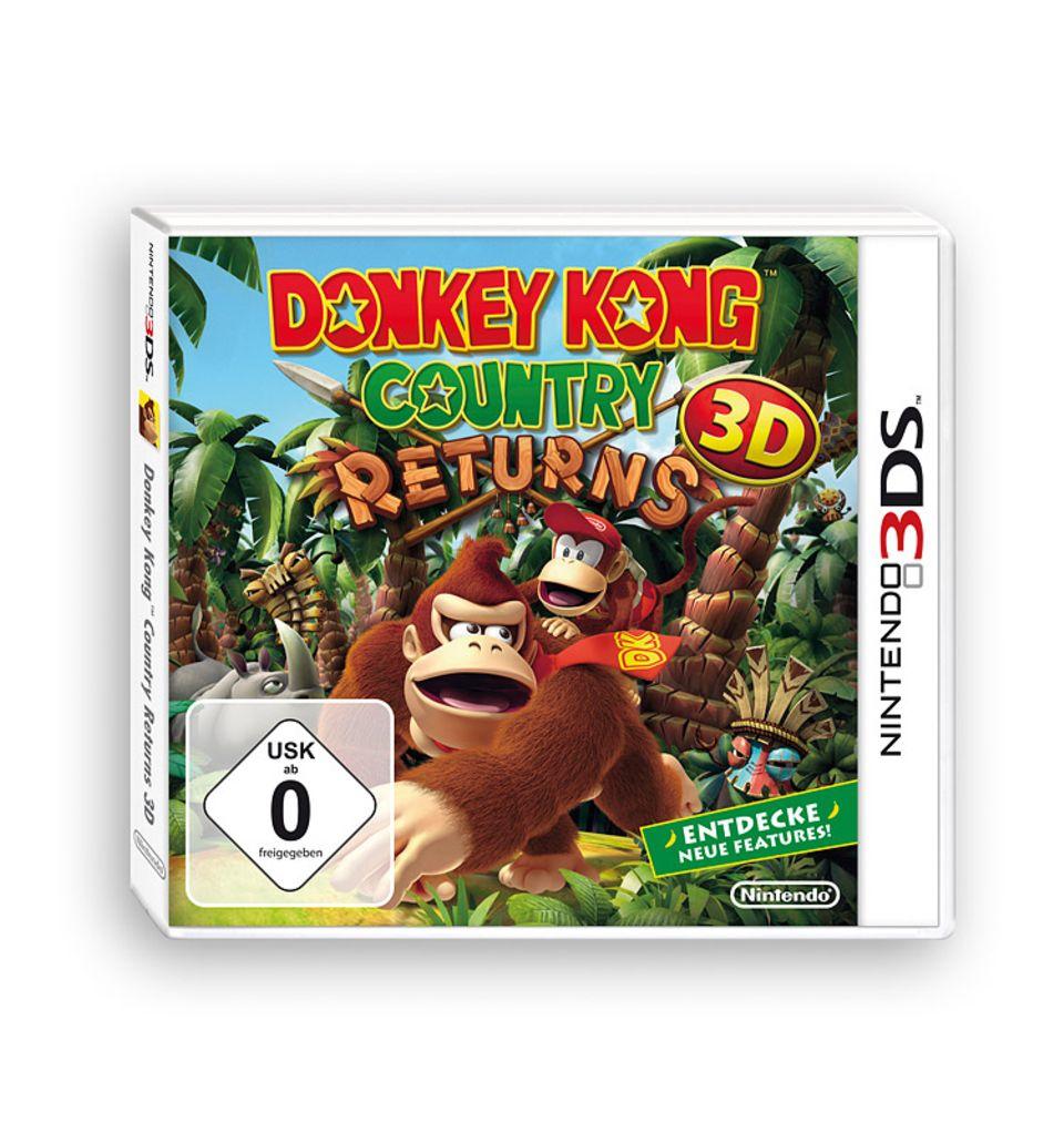 Spieletests: Donkey Kong ist zurück!