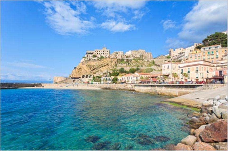 Italien: Sehnsuchtsziel: Ab ans Tyrrhenische Meer und in den Ort Pizzo