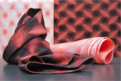 Textilverarbeitung: Stoff aus Bambus