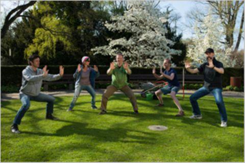 Green Gym: Das Fitness-Studio im Grünen