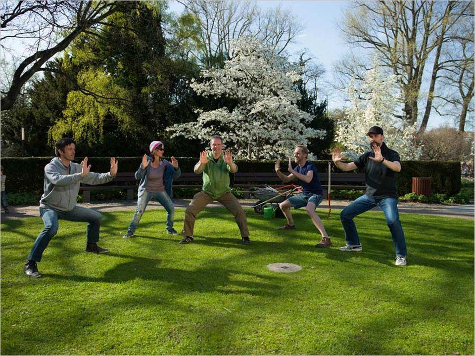 Green Gym: Fitness im Garten: Beim Greengym kommen Pflanzen und Muskeln auf ihre Kosten