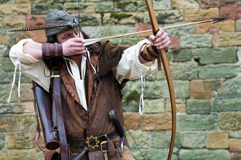 Helden: Pfeil und Bogen sind das Markenzeichen von Robin Hood