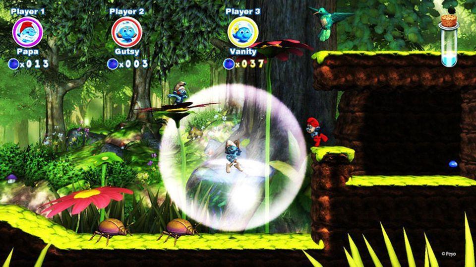 Spieletests: Kämpft euch durch den magischen Forst und rettet Schlumpfine!