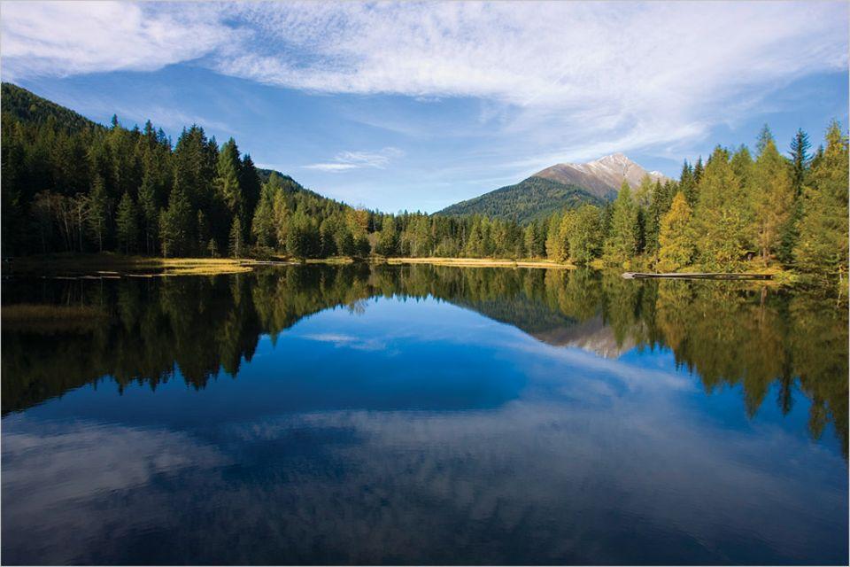 Steiermark: Der Schattensee im Krakautal ist eine Jodel-Station