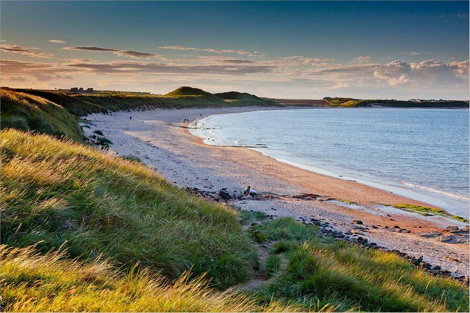 Northumberland: Burgenland mit Meeranschluss