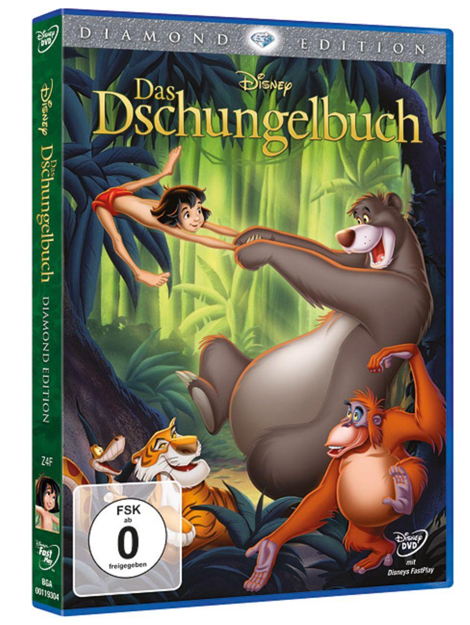 """Kein Film in Deutschland lockte mehr Menschen ins Kino - """"Das Dschungelbuch"""" jetzt in HD auf DVD und Blu-ray"""
