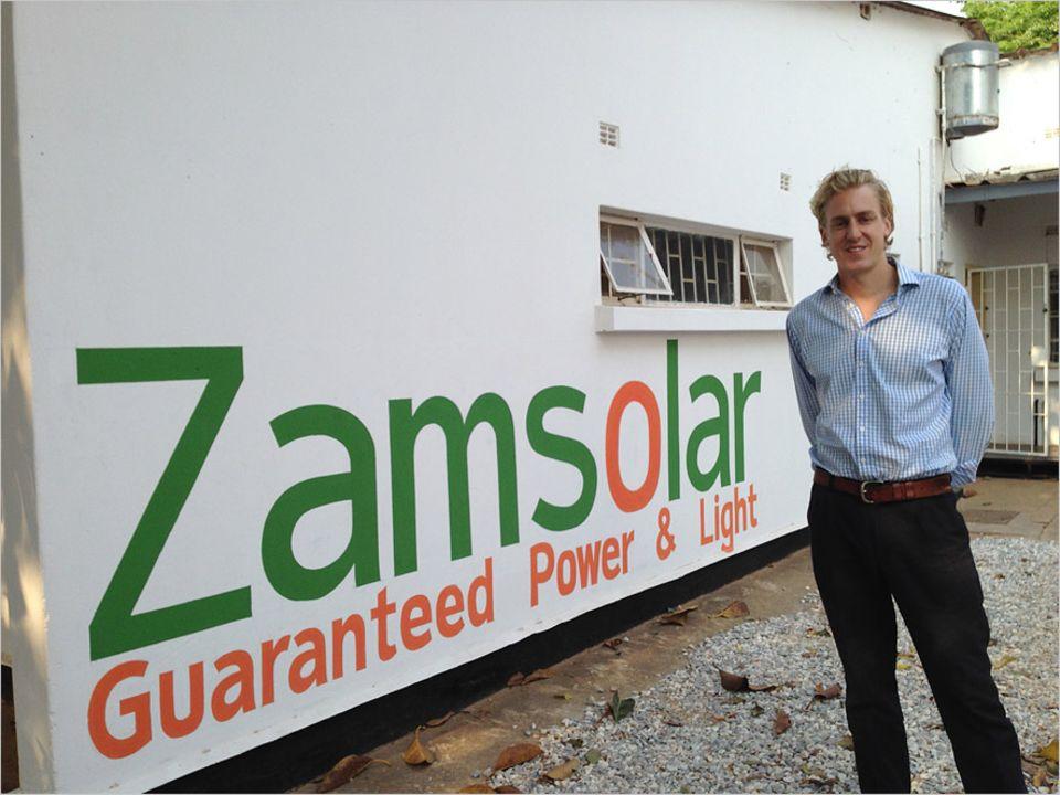 Escape the City: Inzwischen glücklicher Finanzdirektor in Sambia: Ben Harper