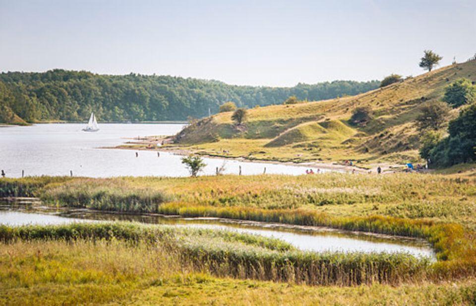 Ostsee: Filmreif: das Dummersdorfer Ufer bei Travemünde