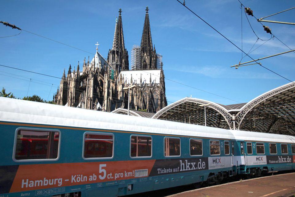 Interview: Der HKX pendelt bis zu dreimal täglich zwischen Köln und Hamburg