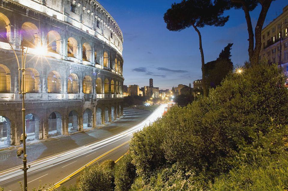 Städtereisen: All unsere Tipps liegen in einem Radius von 2,8 Kilometern und sind bequem vom Kolosseum aus zu erreichen