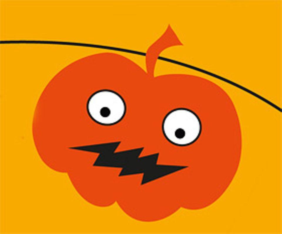 Halloween: Kürbis