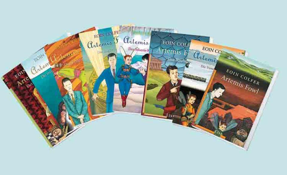 Fantasy: Jede Menge Spannung erwartet euch in den Artemis Fowl-Büchern