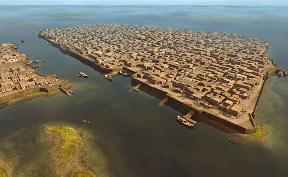 Wissens-Transfer: Mohenjo-Daro, 2300 v. Chr., heutiges Pakistan