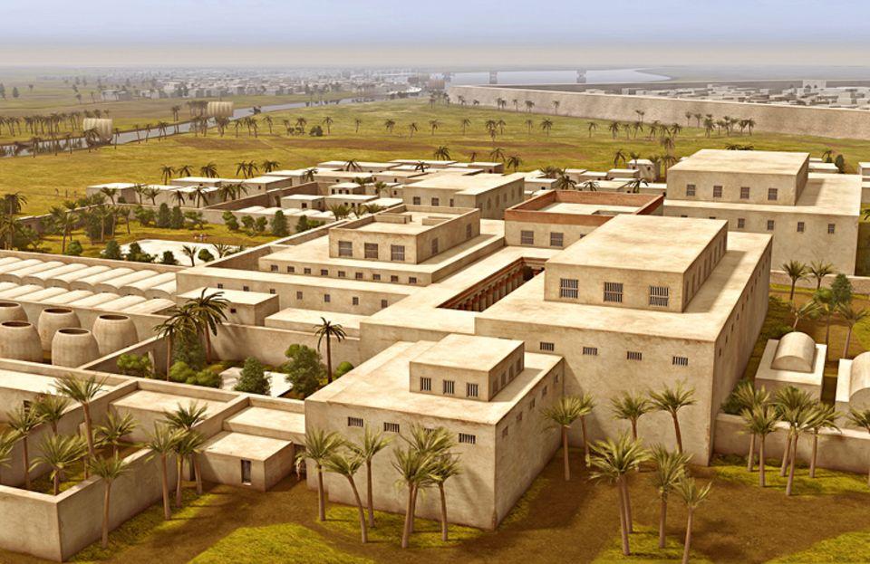Wissens-Transfer: Auaris, 1550 v. Chr., Ägypten