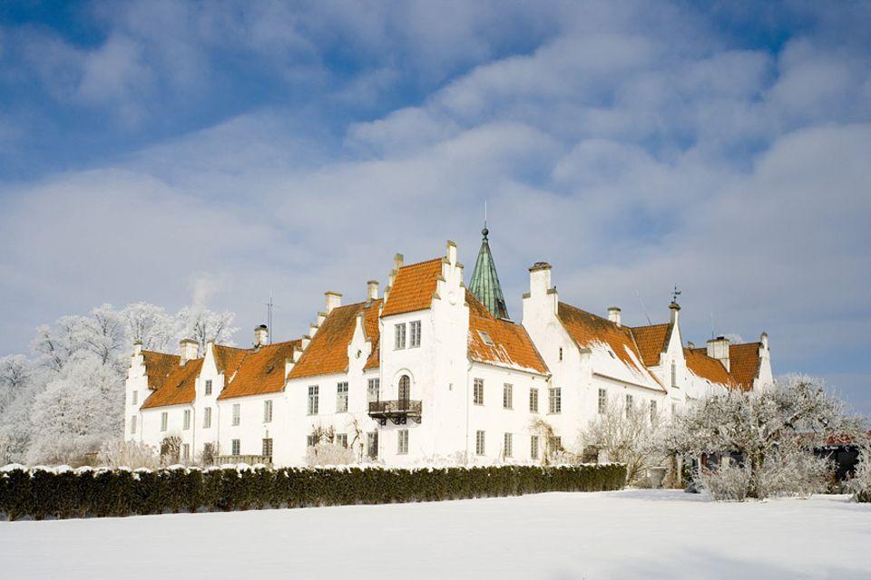 Schweden: Das Bosjökloster bei Höör ist bekannt für atmosphärische Jul-Konzerte