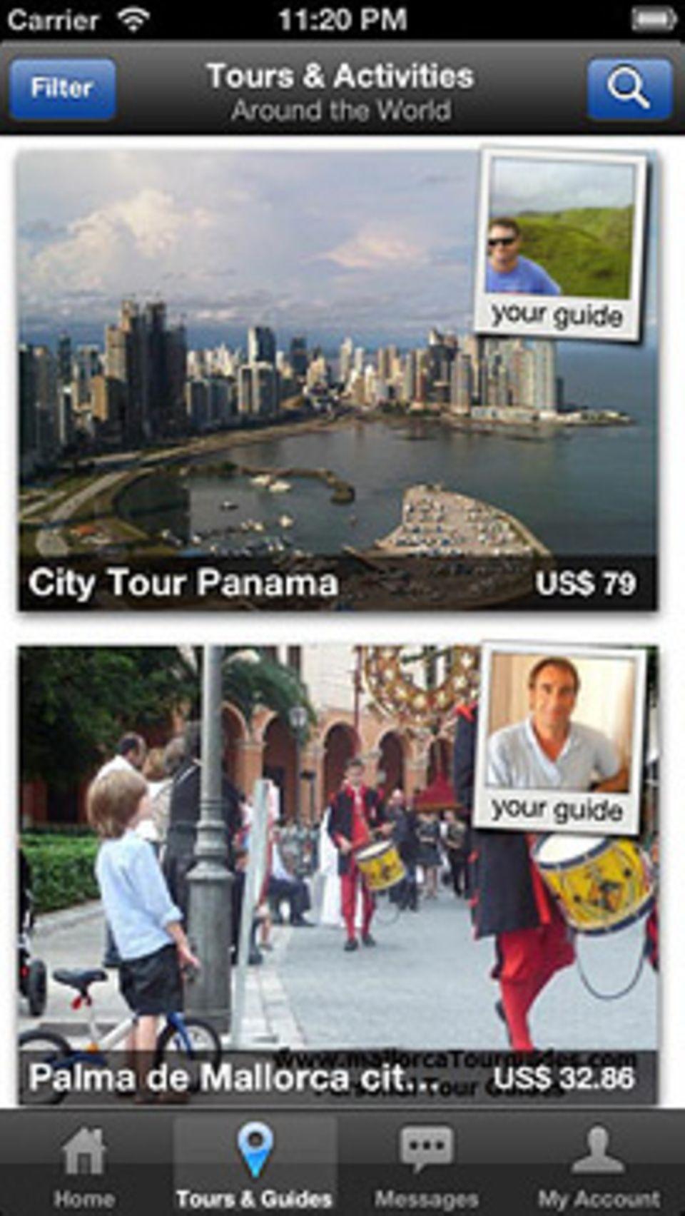 """4000 Fremdenführer in 100 Ländern bieten ihre Touren über die App """"Local Guiding"""" an"""