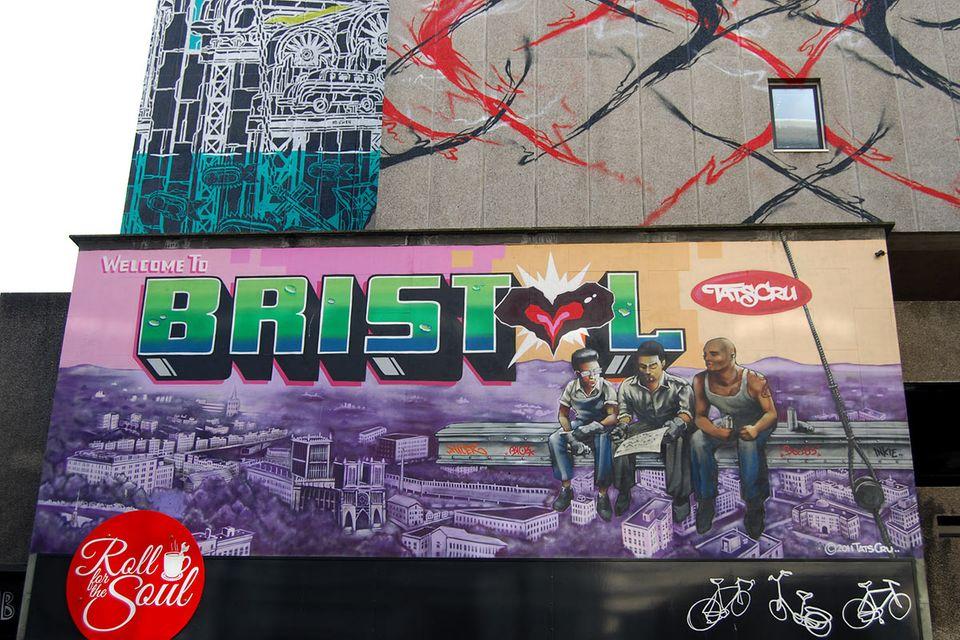 Städtetrip: Bristol - die sprühende Metropole