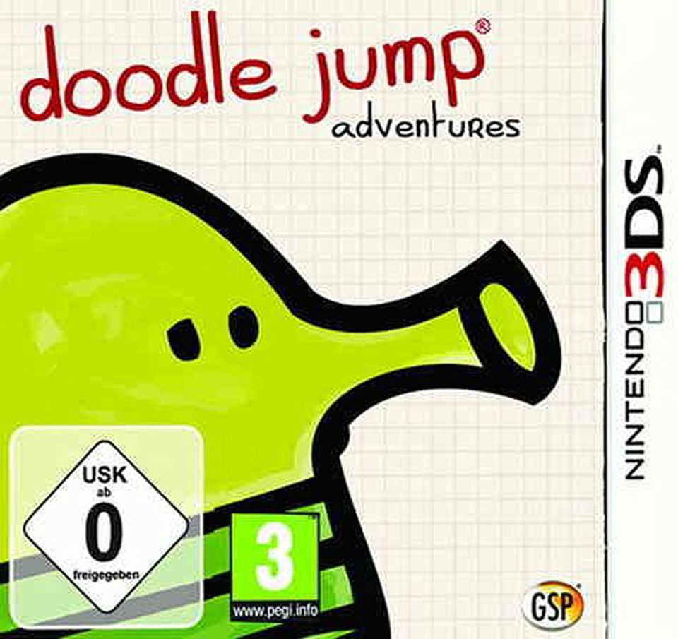 Spieletest: Doodle Jump Adventures, ab sofort auch für Nintendo 3DS