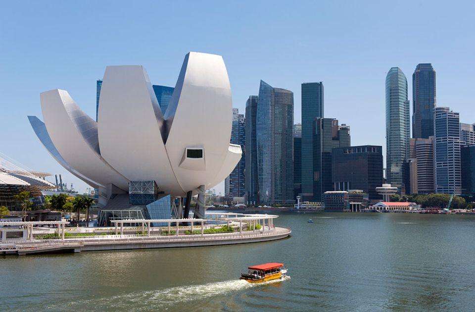 Reisetipps Singapur: Das Artscience Museum in Singapur eröffnete erst 2011 und ist seitdem ein Publikumsmagnet