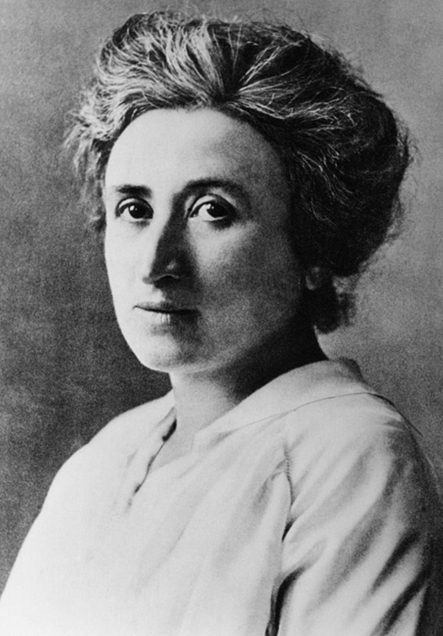 Weltveränderer: In Anlehnung an Karl Marx setzte sich Rosa Luxemburg für Gleichheit und Gerechtigkeit ein
