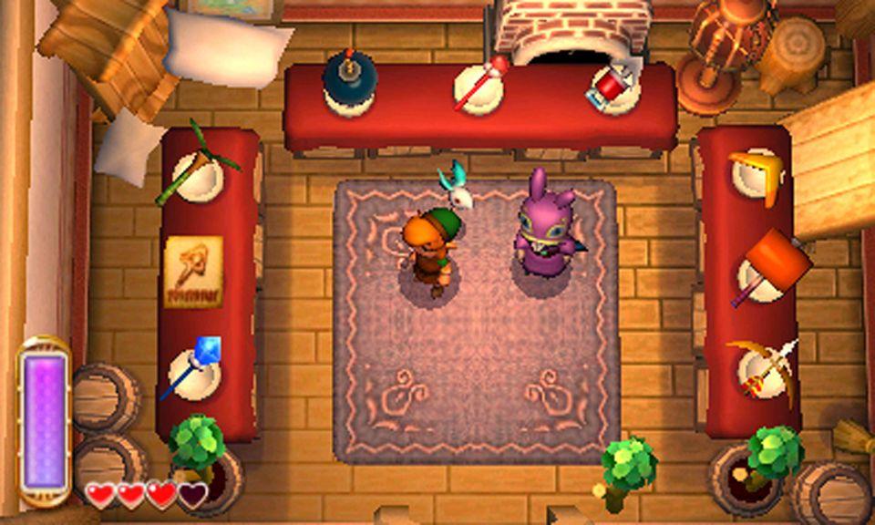 Spieletest: Der Händler Bravio hat sich kurzer Hand in eurem Haus eingerichtet. Bei ihm bekommt ihr alles was das Herz begehrt