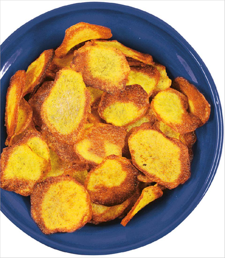 Rezept: Kartoffelchips - so kennt und liebt sie jeder