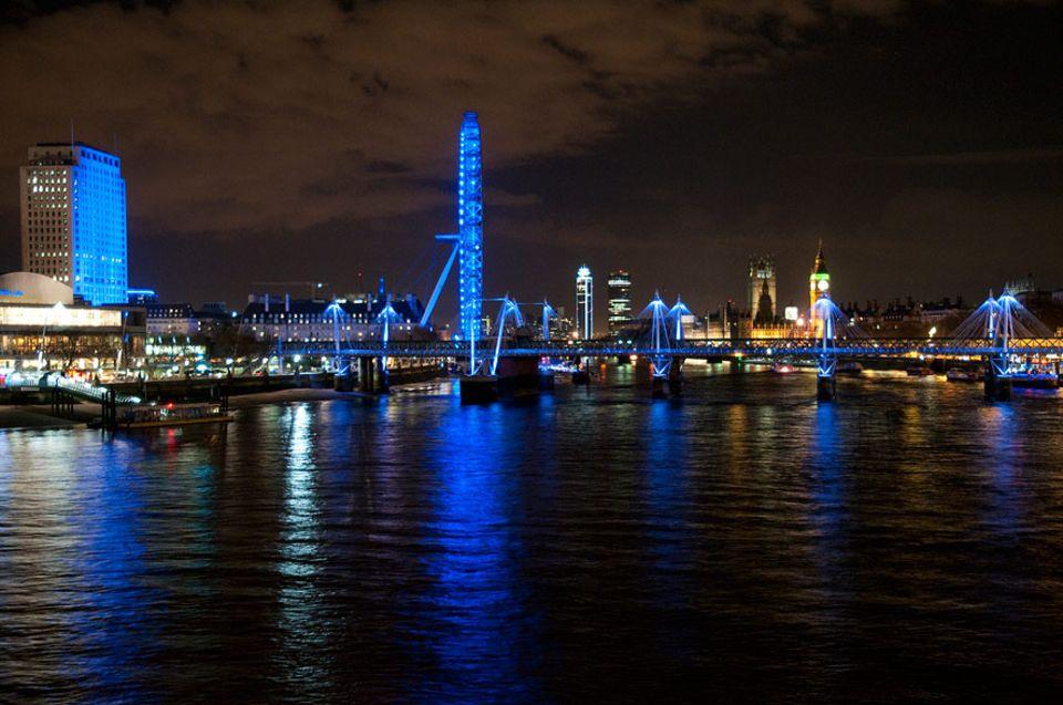 Hidden City: Zwischen Big Ben und National Theatre: London Southbank war das Schnitzeljagd-Gebiet von GEO.de-Redakteurin Julia Großmann