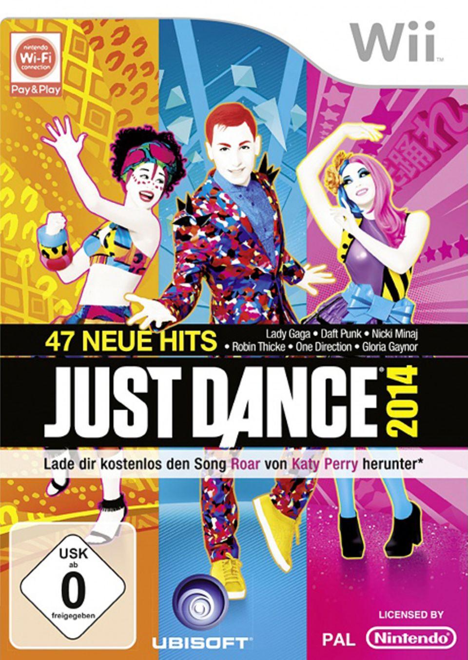 """Spieletest: Bei """"Just Dance 2014"""" bleibt keiner ruhig sitzen. Ab auf die Tanzfläche mit euch!"""