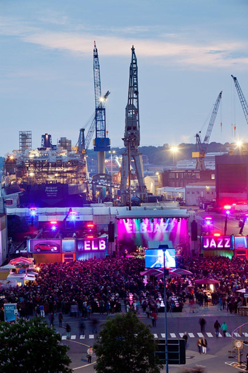 Hamburg: Seit einigen Jahren fester Bestandteil der Hamburger Festivalszene: Das Elbjazz-Festival