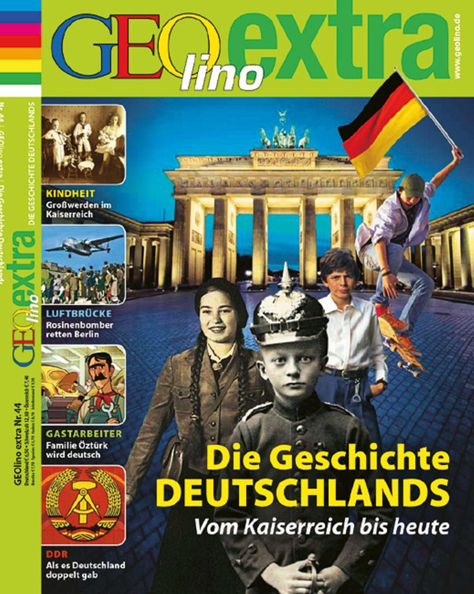 """So sieht es aus das GEOlino extra """"Die Geschichte Deutschlands"""""""