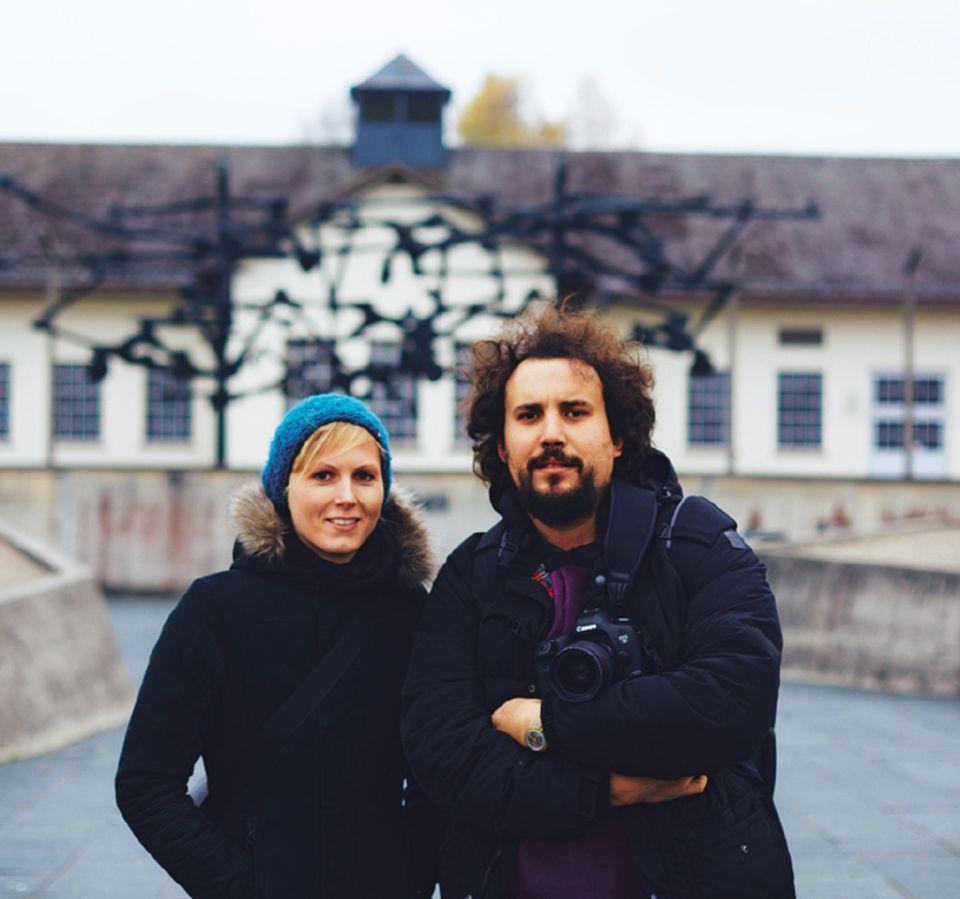 Reporter Simone Müller und Julian Baumann sammeln viele Eindrücke vom unmenschlichen Alltag der Häftlinge