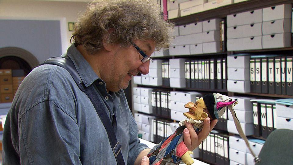 Detlef Heinichen ist gelernter Puppenspieler. Der Kaspar ist für den Dresdner Beruf und Leidenschaft gleichermaßen