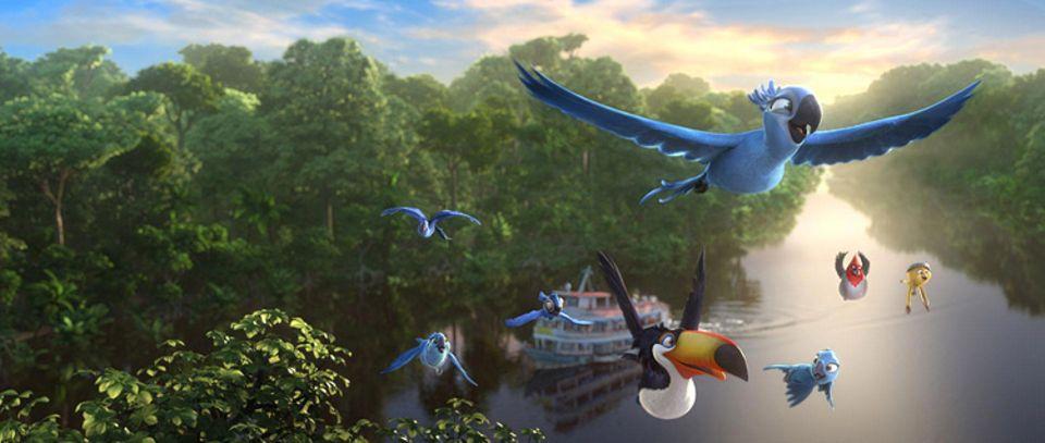 Film: Kinotipp: Rio 2 - Dschungelfieber