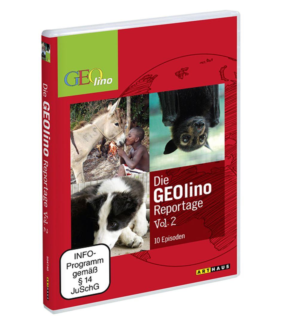 GEOlino DVDs: Die GEOlino Reportage Vol. 2