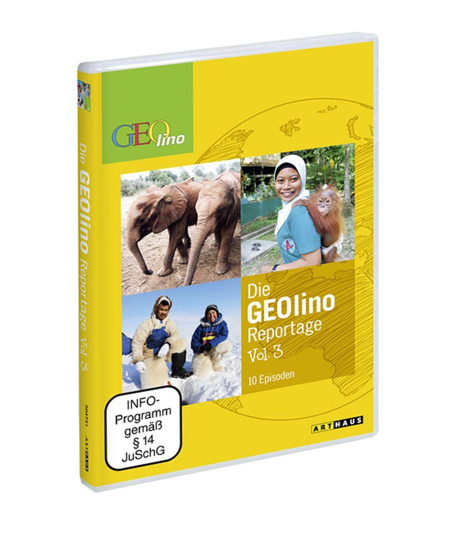 GEOlino DVDs: Die GEOlino Reportage Vol. 3