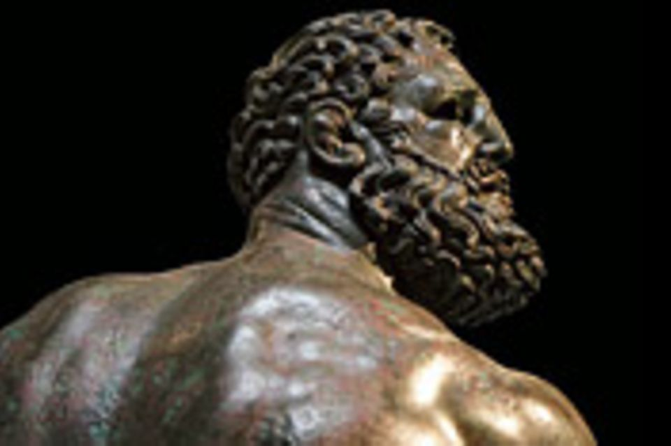 """Ein Werk und seine Geschichte: Bronzeplastik: der """"Thermenboxer"""""""