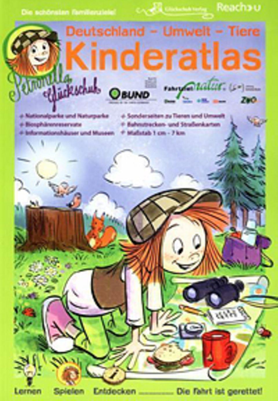 Der Kinderatlas kostet 19,95 Euro und ist im Glückschuh Verlag erhältlich