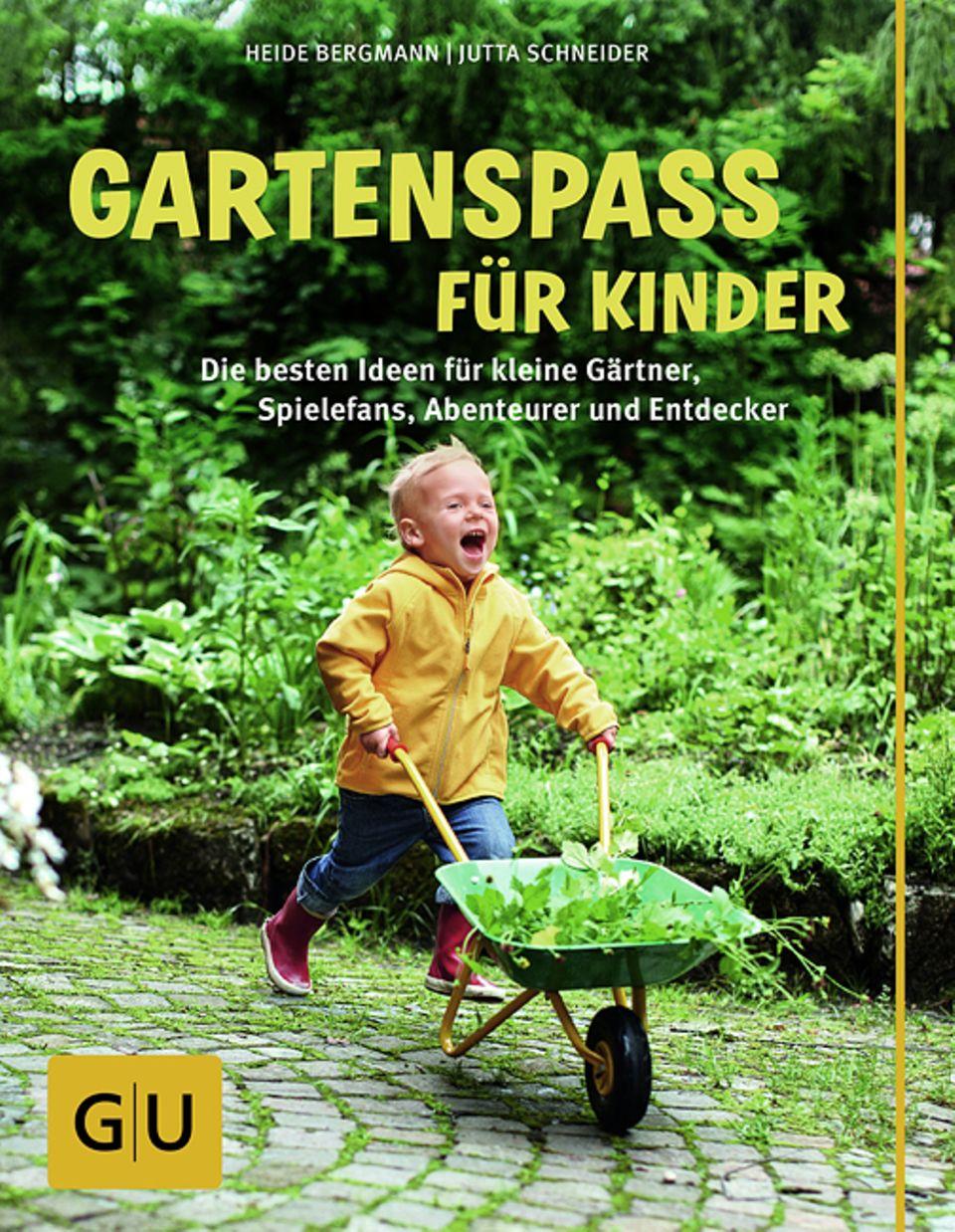 Gartenspaß für Kinder, Gräfe und Unzer Verlag, 144 Seiten, 14,99 Euro