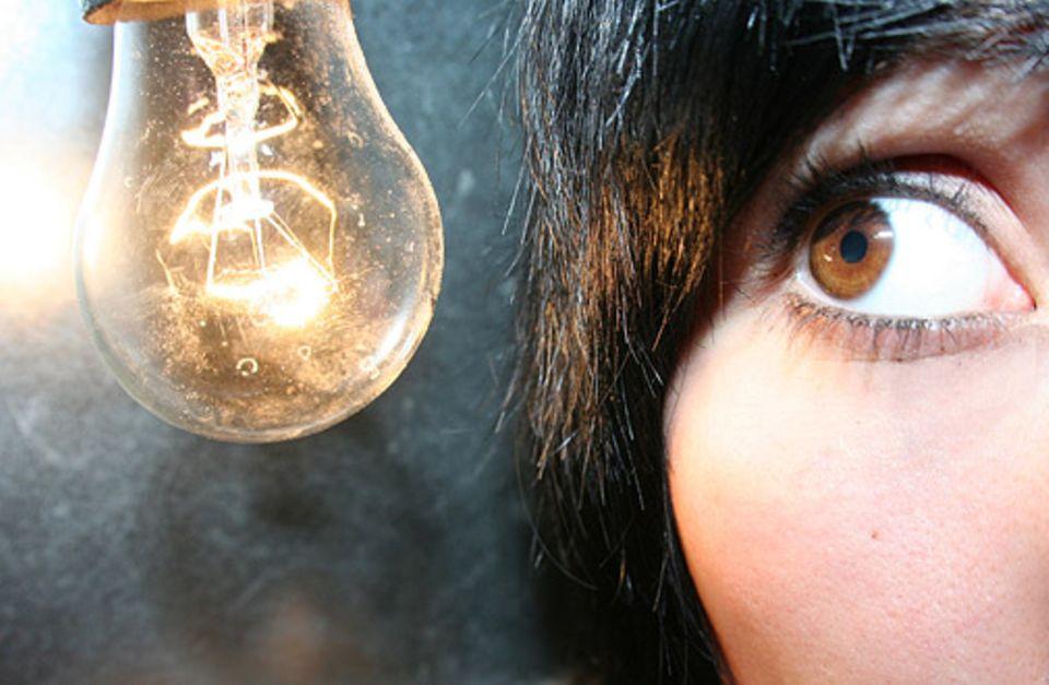 In dem Moment, in dem jemand etwas begreift, geht ihm sprichwörtlich ein Licht auf
