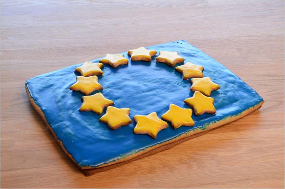 Rezept: Hmm, so sieht der fertige Kuchen aus