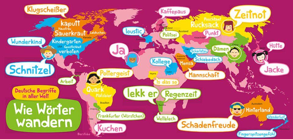 Sprache: Deutsche Begriffe in aller Welt