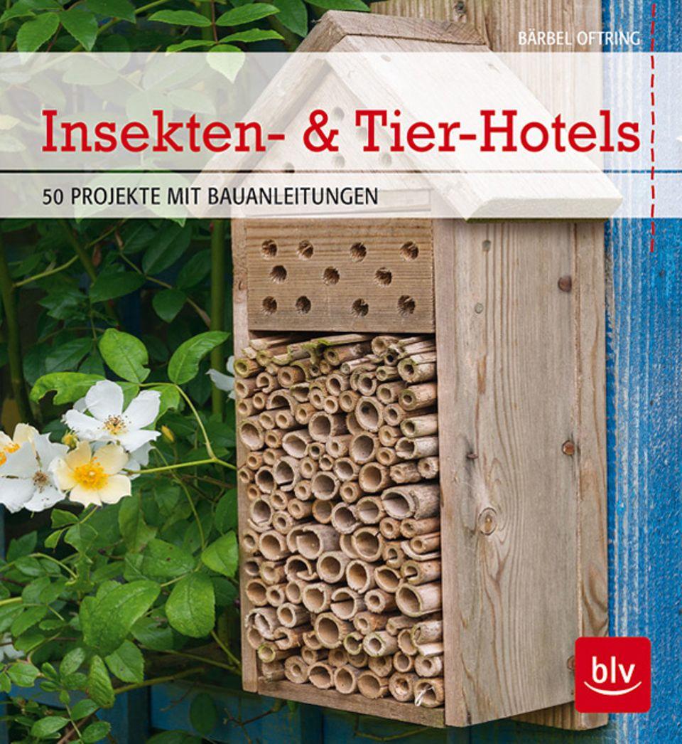 """Buchtipp & Anleitungen: """"Insekten- und Tierhotels"""" zeigt euch 50 Bauanleitungen dieser Art!"""