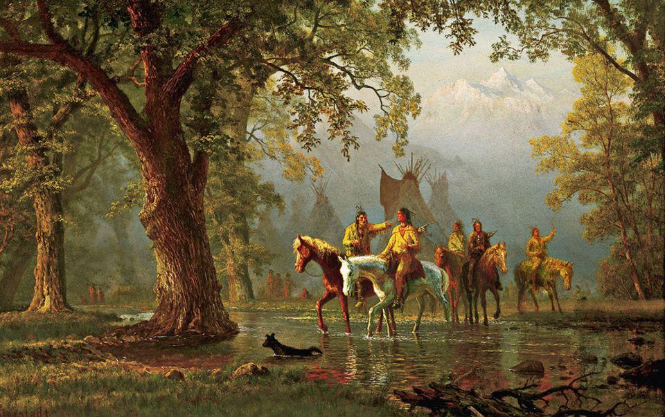 Trapper - 1803-1840: Indianer ziehen in den Kampf. Nachdem viele anfangs die Trapper unterstützt haben, kommt es bald häufig zu Zusammenstößen
