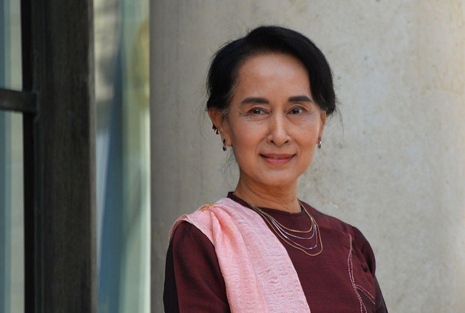 Weltveränderer: Im Kampf für den Frieden in ihrem Heimatland nahm Aung San Suu Kyi 15 Jahre Hausarrest in Kauf