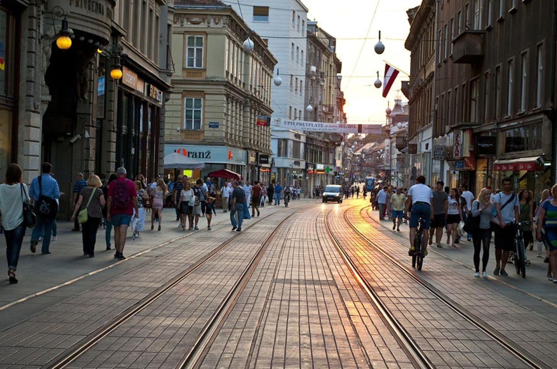 Kroatien: Hier ist immer etwas los. Die Ilica ist die prächtige Einkaufsstraße von Zagreb