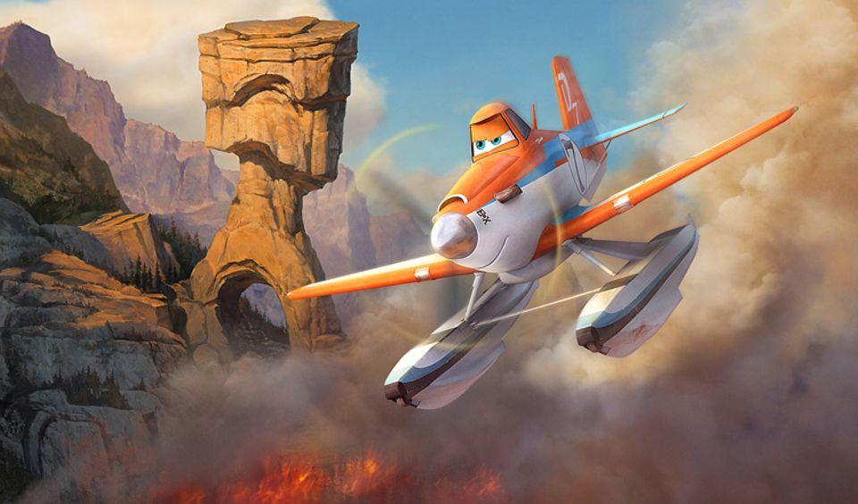 Kino: Dusty stürzt sich in Planes 2 in ein neues, brandgefährliches Abenteuer
