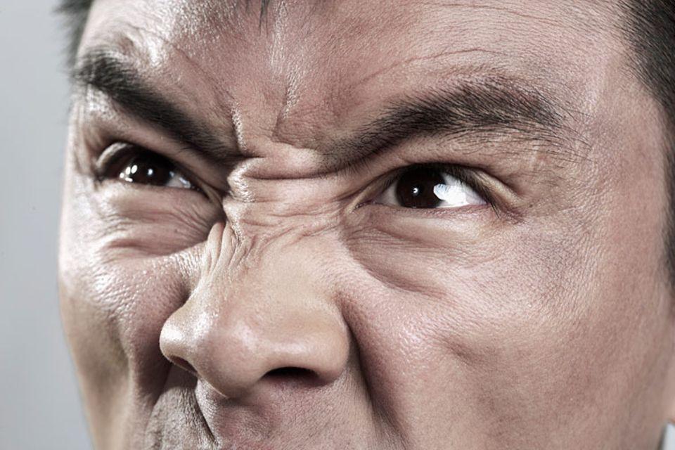 Redewendung: Jemand sagt zu dir, ihm läuft die Galle über? Dann ist er sehr wütend!