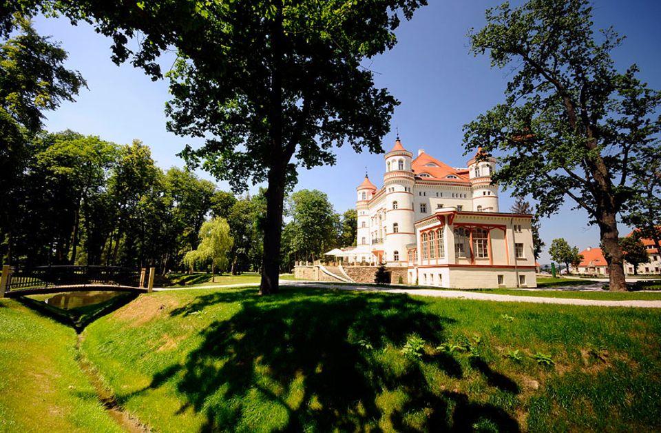Polen: Herrschaftszeiten: Das renovierte Schlosshotel Wojanów erinnert an die pompöse Vergangenheit des Tals