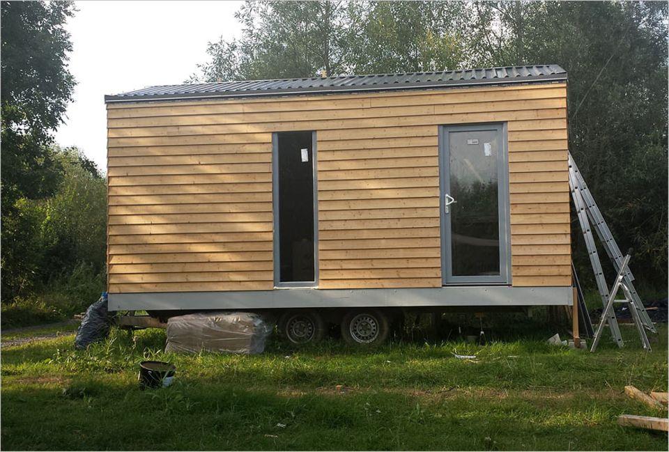 Tiny Houses: Komfortabel, trendy, mobil: das Tiny House von Klaus Toczek