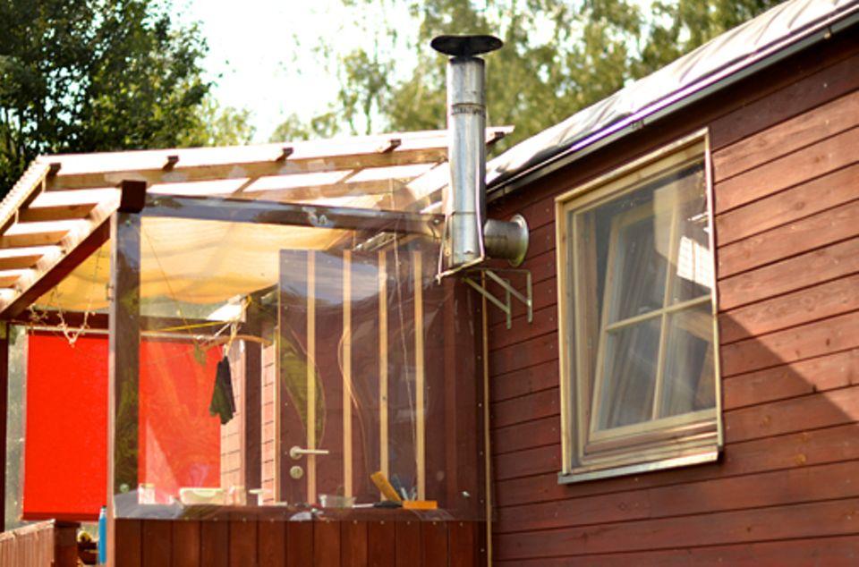 Tiny Houses: Bauwagen im Fläming: Selbst aus- und umgebaute mobile Häuser liegen im Trend